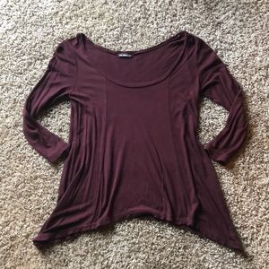 💜Sexy maroon/burgundy top!!❤️